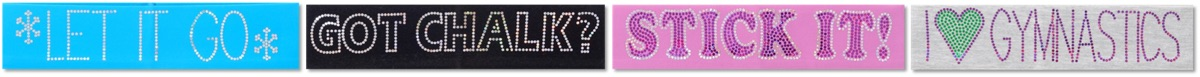 Cute, Original Gymnastics Headbands. Select From Lots of New Designs!
